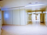 Стерильный коридор в оперблоке.
