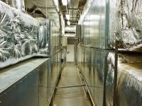 Вентиляционные установки, подающие подготовленный воздух в оперблок.