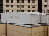 Строительство помещения вентиляционной камеры на крыше существующего здания ЛПУ.