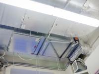 Приточно-вытяжная установка для поддержания микроклимата в комнате сканирования.