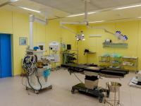 Хирургический корпус на 16 операционных залов, построен в 2012 году.